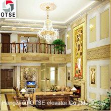 OTSE ascensor panorámico de la villa / ascensor pequeño de la casa