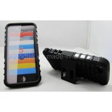 Caso de telefone móvel de caso de kickstand robô para iphone 6