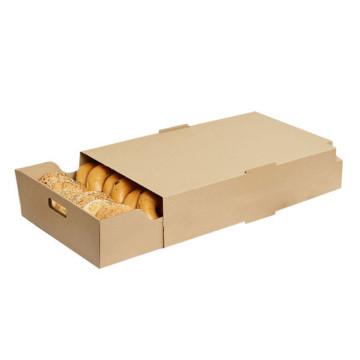 Крафт-бумага Бенто Ланч-бокс Cajas De Carton Биоразлагаемый гастроном Суши Коробка для доставки еды Embalagems De Papel Коробка для пищевых контейнеров