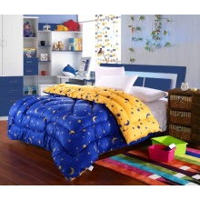 Cotton Printed Soft Touch Solid Printed Comforter Set