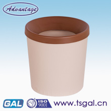 Plastic trash bin with low price