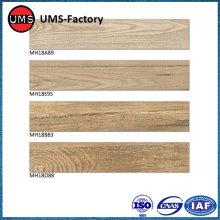 Wood tiles effect balcony flooring