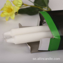 Partihandel 34g Nigeria White Taper Candles