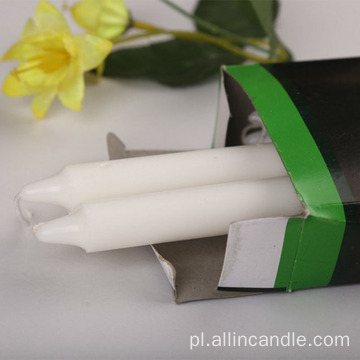 Hurtownie 34g Nigeria White Taper Candles
