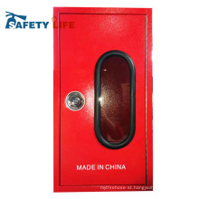 stainless steel fire hose cabinet/cabinet fire hose reel system/fire extinguisher plastic cabinet