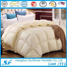 Одеяло из гусиного пуха супер мягкого кремового цвета