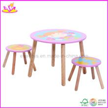 Bureau et chaise de jardin d'enfants (WO8G092)