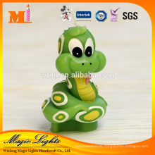 Lovely Green Snake Animal Shaped Zodiac Birthday Candle