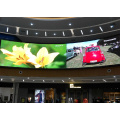 Display LED ad alta risoluzione per interni curvi