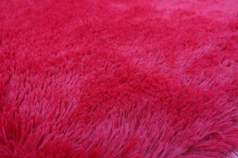 Batmat with Polyester Pile Pink color