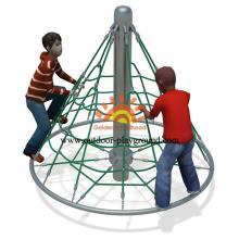 Freestanding Soft Climbing Net Playground For Kids