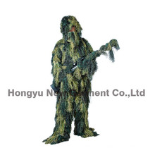 Professional Grade Sniper Simulation Camouflage Ghillie Suit for Hunting (HY-C001)