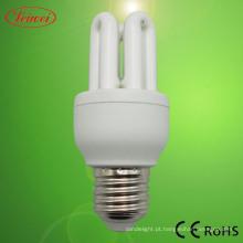 Lâmpada fluorescente de economia de energia de 3U