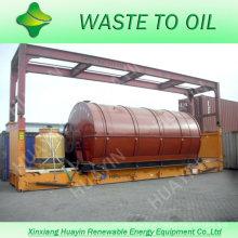 Borracha / pneus / auto planta de reciclagem plástica do equipamento em India / Romania / Poland