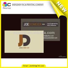 Hot sale custom transparent plastic translucent plastic business card