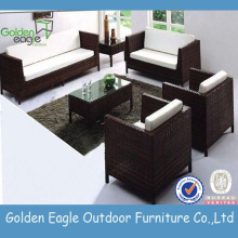 SGS PE Rattan Furniture Muebles de exterior
