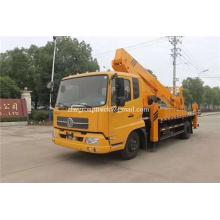 Camión de plataforma de elevación hidráulica montada en camión de 24 m