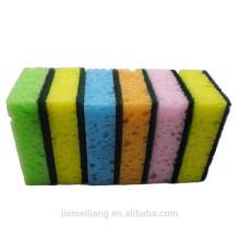 JML0362 Esponja colorida esfregando almofadas / esponja de algas Scrubber para as vendas