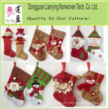 Neujahr Kinder Geschenk Dekorativ Filz Weihnachtsstrumpf