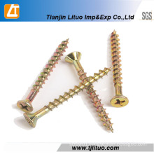 Single/Double Head Zinc Plated Chipboard Screws
