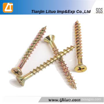 Pozi Head Zinc Plated Chipboard Screws
