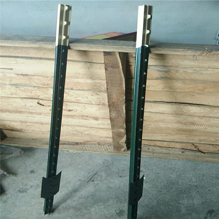 T-steel-picket-fence-post