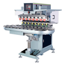 Acht Farbtintendruckmaschine mit Coveyor, mit Inkwell