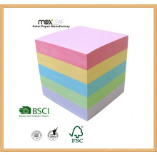 Color Paper Cube and Paper Board Supply