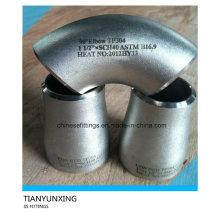 Bw Seamless Butt solda acessórios de aço inoxidável da tubulação