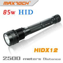 Maxtoch HIDX12 batterie 6600mAh 85W HID lampe de poche