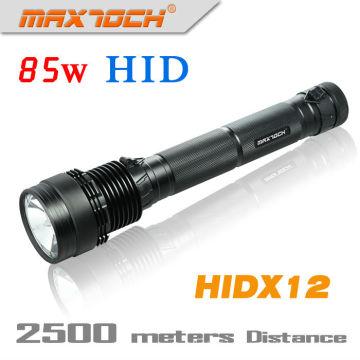 Maxtoch HIDX12 6600mAh Bateria 85W Alumínio HID