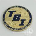 Gold Plated Badge, organisatorische Handwerk (GZHY-BADGE-076)