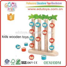 Europa Design Monkey Theme Four in row Jogo de Educação de Habilidade Social para bebê