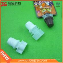Bolso de chocolate de alimentos de 8mm Caño de plástico con tapón