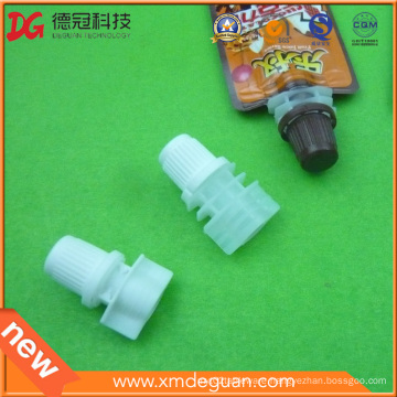 8mm Food Chocolate Bag Plastic Spout with Cap