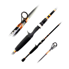 BAR012 high quality pure nano carbon fast fishing rod 200cm slim SUS ring