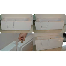 cheap disable bathtub with slip door