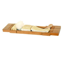 Good Quality for Bamboo Bathtub Tray,Organic Bamboo Bathtub Tray,Eco-Friendly Bamboo Bathtub Tray Manufacturers and Suppliers in China Eco-friendly bamboo bathroom towel rack export to French Southern Territories Factory