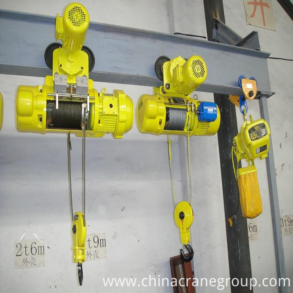 CD1&MD1 TYPE HOIST SHOW