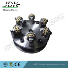 6t Diamond Bush Hammer for Granite Grinding