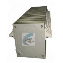 Presse-filtre de Leo Plaque de presse-filtre à membrane de haute pression de la presse à membrane de membrane de pp de pp 800, opération élevée de compression de membrane
