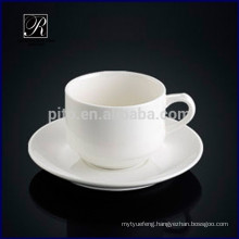 Porcelain coffee cup &saucer best style for cafeteria restaurant hotel use
