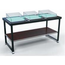 Mesa moderna de buffet / estación de mariscos / barra de ensaladas (DE43)