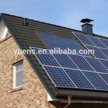 Estructura de soporte de panel fotovoltaico fácil de colocar en el techo Sistema de energía solar mini hogar