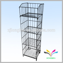 kitchen accessory durable metal wire dish display shelf
