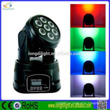 Llevó la mini favorable luz RGBW 7 * 10W 4in1 llevó la luz de la etapa del disco de DJ