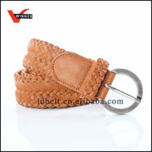 2014 Fashion Durable Brown Women PU Belt
