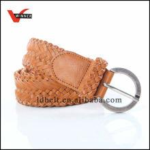 2014 Fashion Durable Brown Women PU Belt