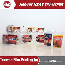 pet film customized design printed heat transfers