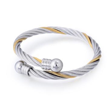 Persönlichkeits-Edelstahl überzog Mann-Armband-Schmuck-Frühlings-Stulpe-Armband